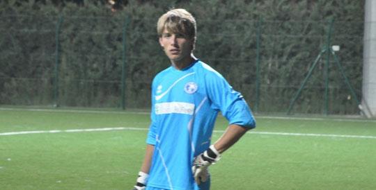 Nella foto il giovane portiere Luca De Lellis nato il 9/09/1994). Seconda stagione con la Pescara Nord