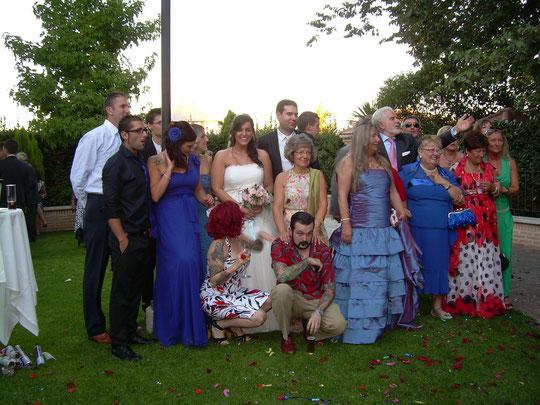 La familia de Javi. F. P. Privada.