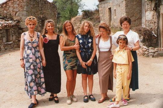 Mujeres de la familia.