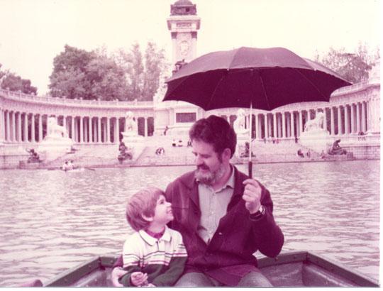 Retiro, con papá. F. Merche. P. Privada.