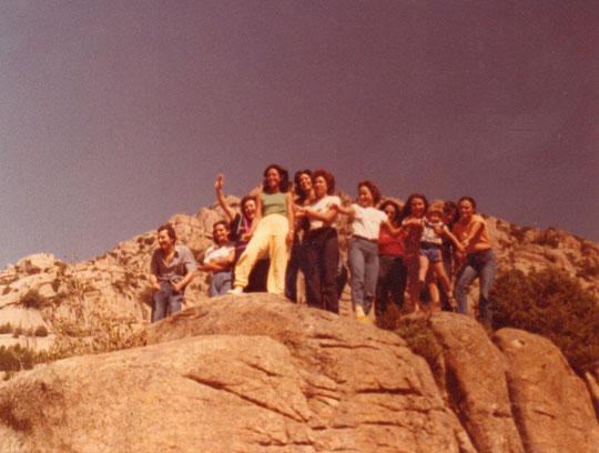 Entre las rocas. F. Pedro. P. Privada.