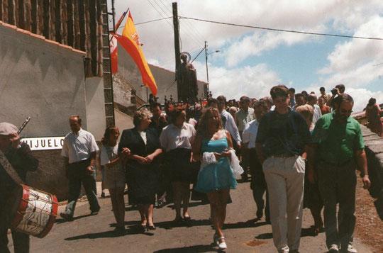 La procesión.