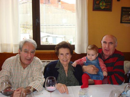 Familia bejarana. F. Cedida. F. P. Privada.