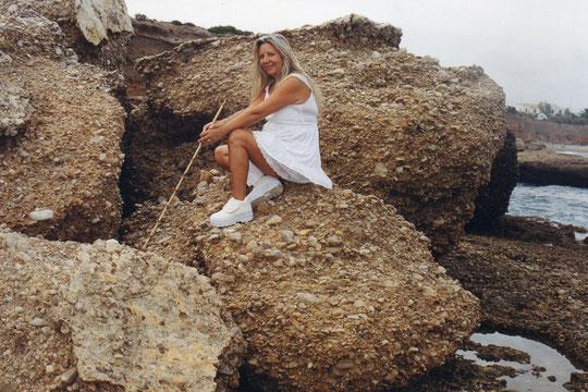 Estas rocas pinchan........pero que mucho. F. Pedro.