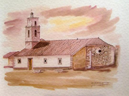 Iglesia de Valdelacasa.