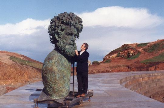 Parece su propio busto. F. Merche. P. Privada.