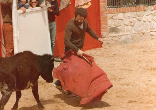 Citando al toro.