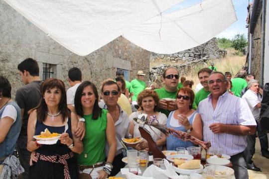 Familia Pérez al completo. Año 2011. F. Cedida. F. P. Privada.