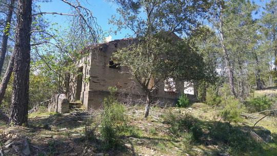 Ruinas de la Iglesia .F. cedida. P. Privada.