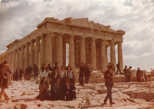 Viaje fin de carrera a. Grecia. F. P. Privada.