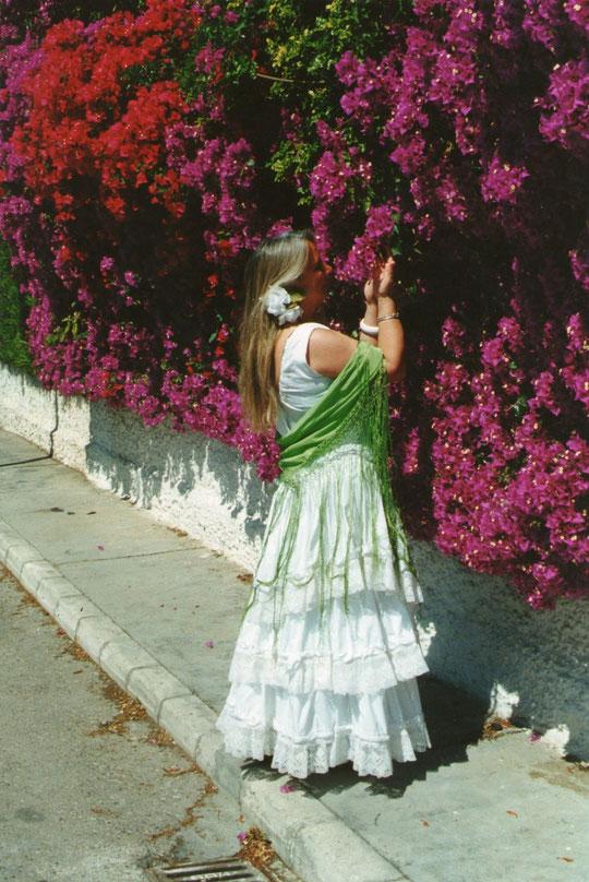 En la feria, Sevilla se viste de primavera. F. P. Privada.