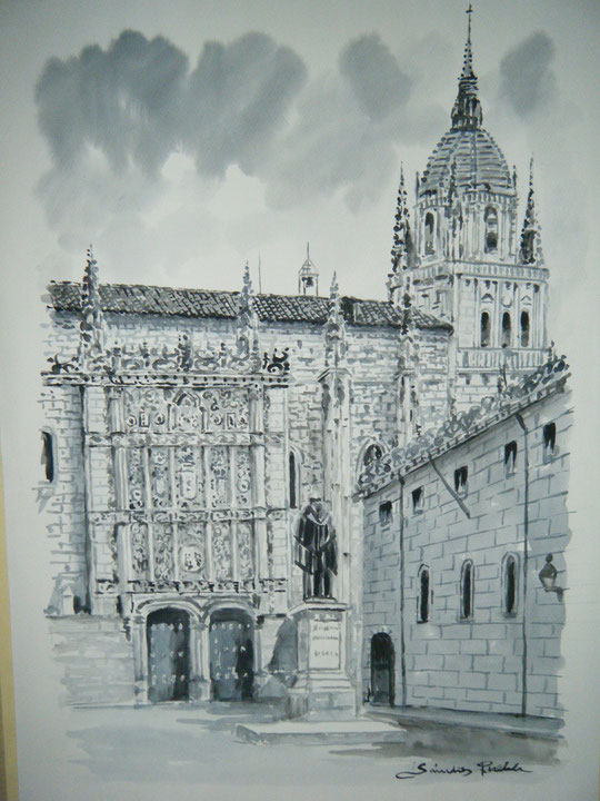 Salamanca. F. Universidad. ( Aguada )