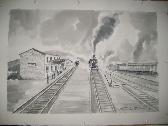 """ Ledrada, antigua estación """