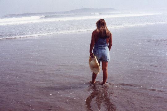 Llegamos a la playa.......