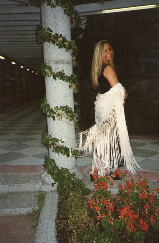 Nocturno. En los jardines de Cecilio Rodriguez . F. Pedro. P. Privada.
