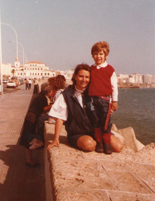 Llegada a Cádiz. F. Pedro.