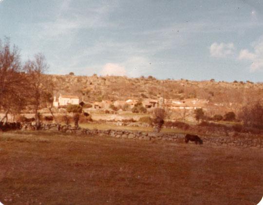 Vista de la Puebla desde las eras.