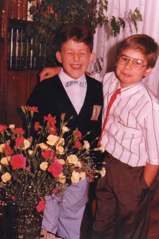Iván y Javi.