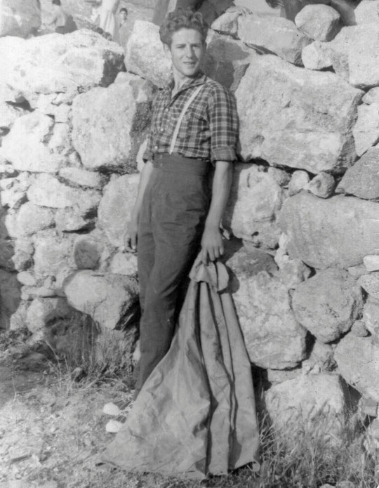 Un jovencísimo Pedro. F. P. Privada.