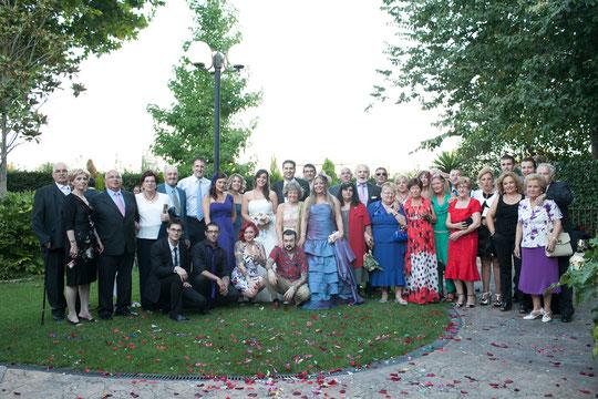 Una gran familia...........