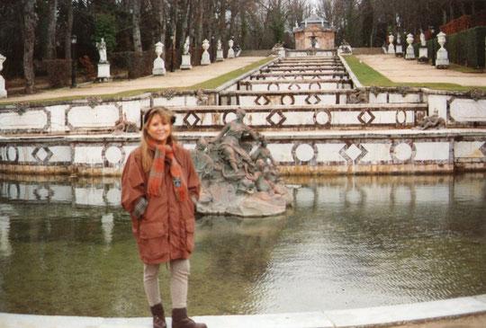 En la Granja de Segovia.