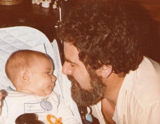 Con papá. F. Merche. P. Privada.