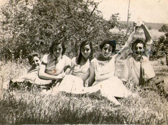 Grupo de la Puebla, años 50. P. Privada.