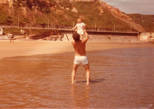 Salinas, años 80. Merche. F. P. Privada.