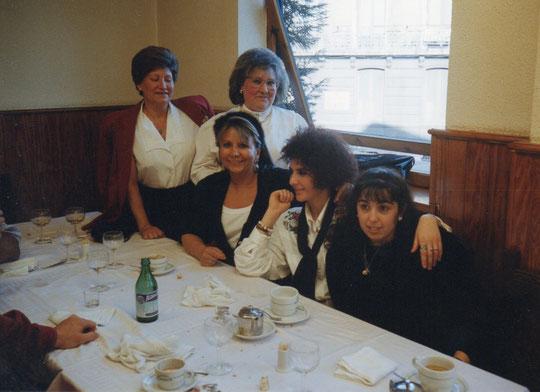 Grupo familiar en Asturias.