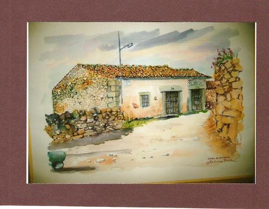 Nº.20 . Aquí nació el pintor; También casa de tia Jacinta.