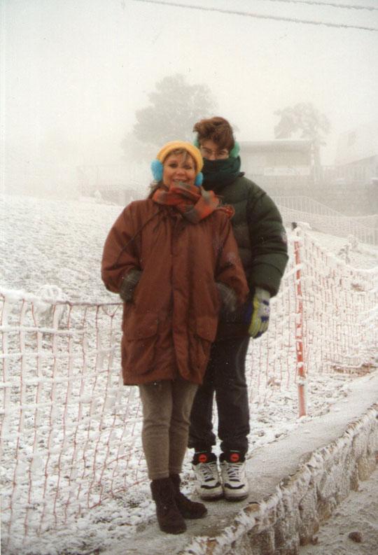 ¡¡ nieve, nieve !! F. Pedro. P. Privada.
