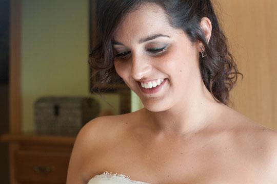 ¡ Una novia muy bonita !