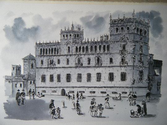 Salamanca, Palacio de Monterrey. ( Aguada )