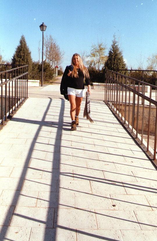 Un paseo por el parque disfrutando. F. Pedro.