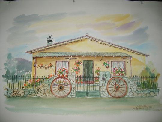 Casa en Ledrada. 2011.