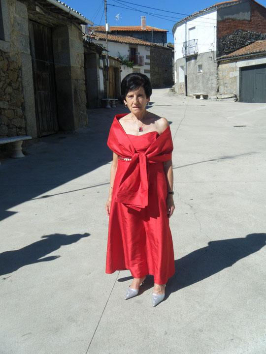Mi amiga Engracia, muy guapa. F. Pedro.
