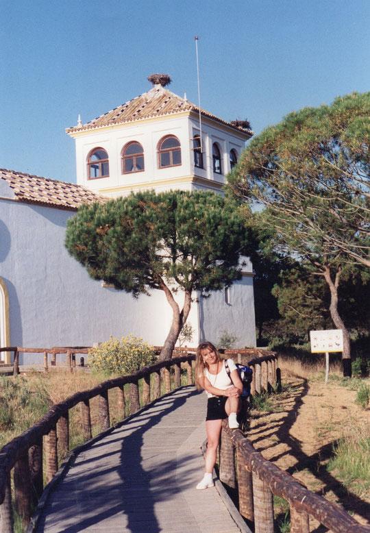 Llegamos a Doñana. F. Pedro. P. Privada.
