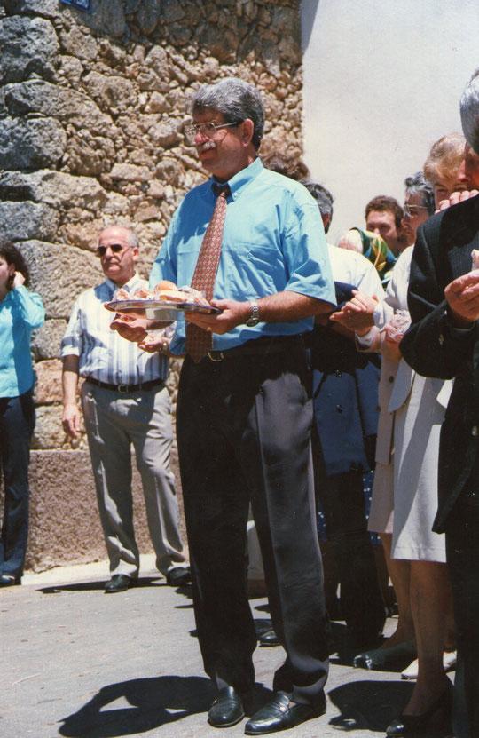 Agustín camarero.