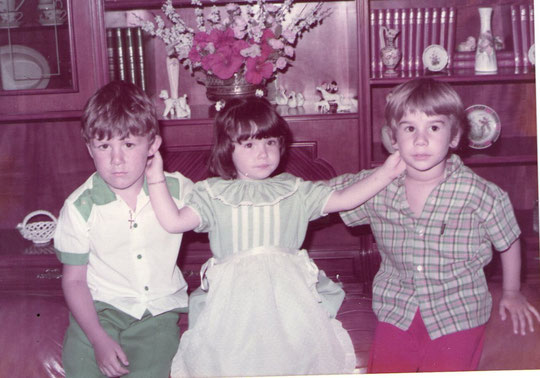 Iván,  Cristina y Javi.