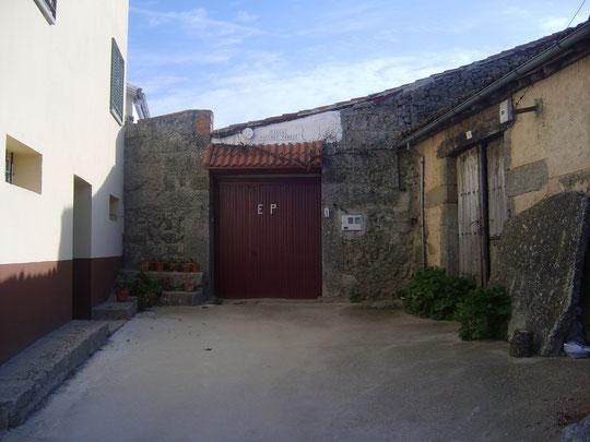 Casa de tio Eugenio y tio Regino. F. Merche.