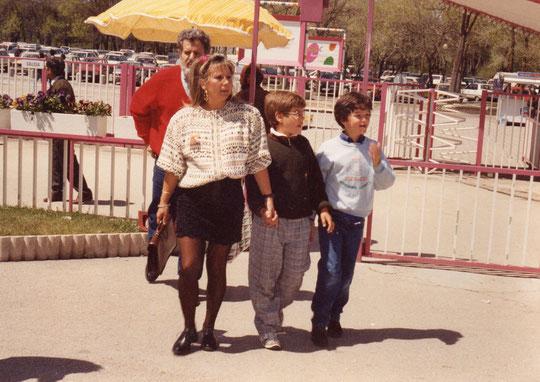 Zoo, Javi y Rubén.