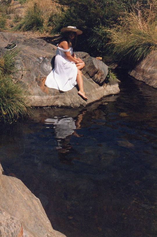 Una preciosa piscina natural.
