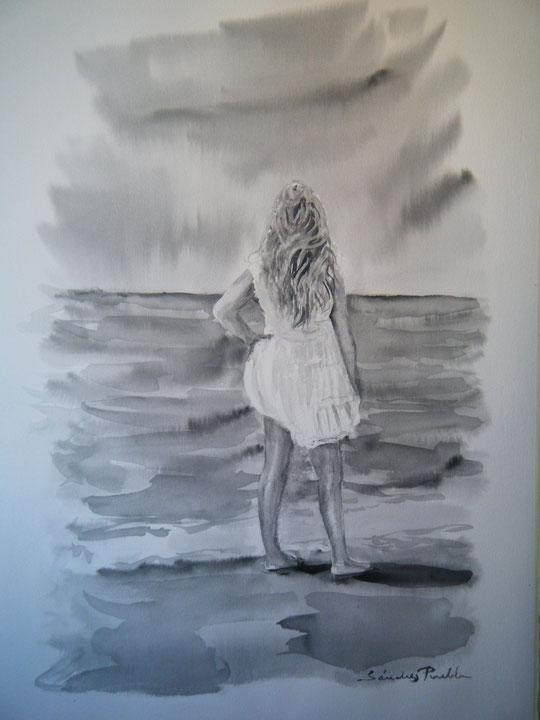 """ Mirando al mar "" ( Aguada )"
