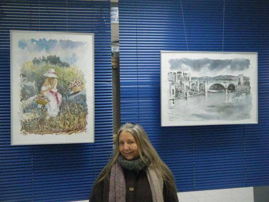 Exposición en el Centro Eduardo Chillida. ( Madrid, Marzo 2013 )