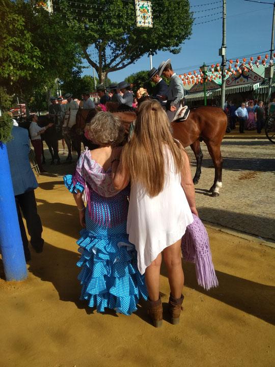 Paseo de caballos 2019. F. P. Privada.