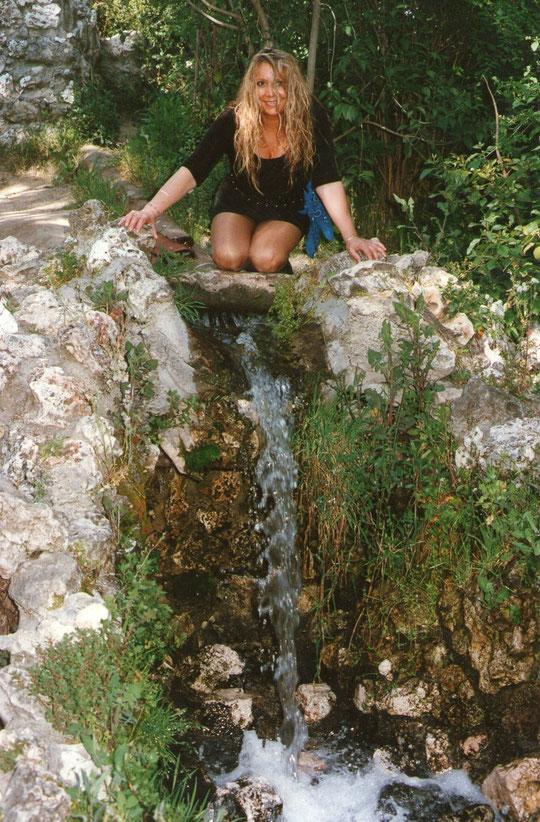 Cascada Parque del Retiro. F. Pedro.