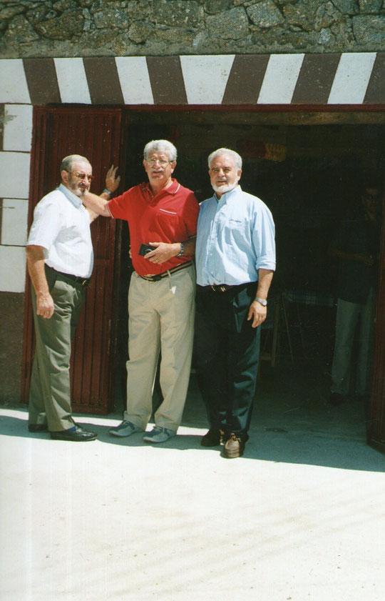Los tres hermanos. Foto de Merche.