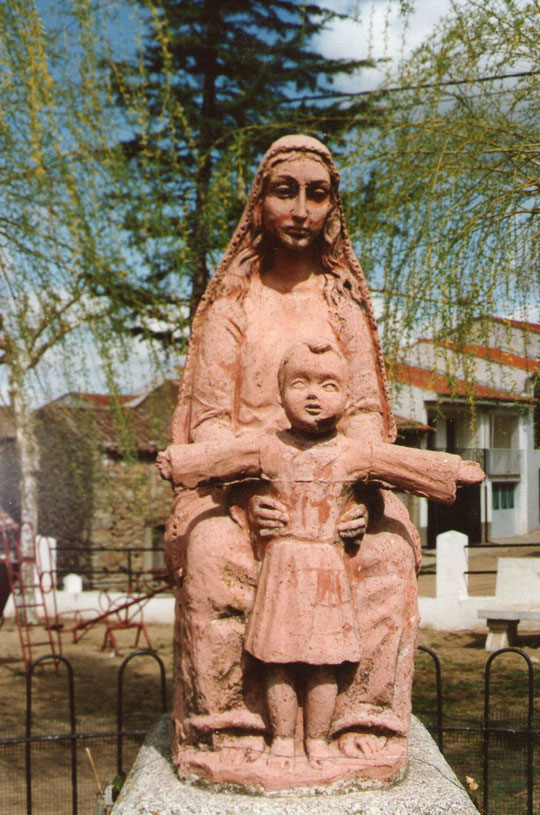 Virgen de la Hiedra (Ledrada) Modelada por Pedro. F. P. Privada.