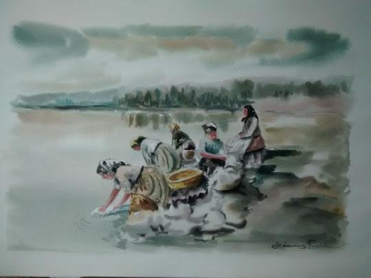 """"""" En el río """""""