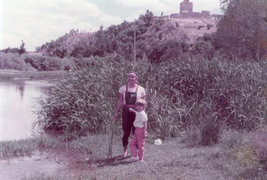 Galisteo y el río Jerte. F. Pedro.